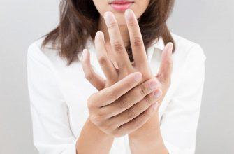 Чешется средний палец