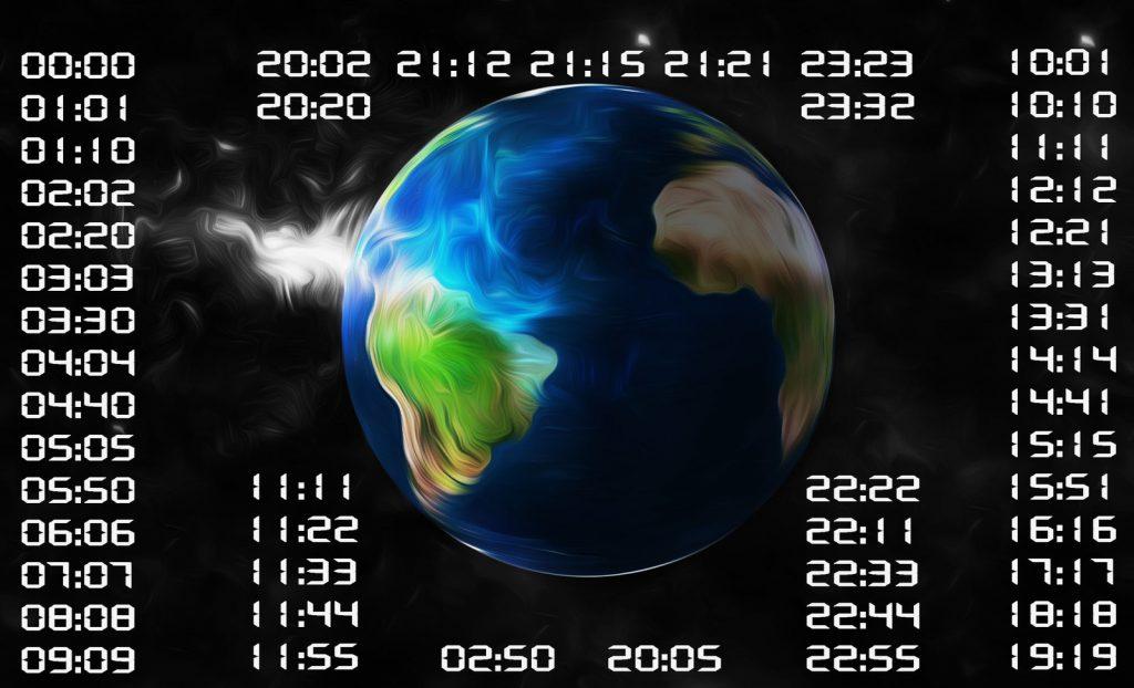 нестандартные числа на часах